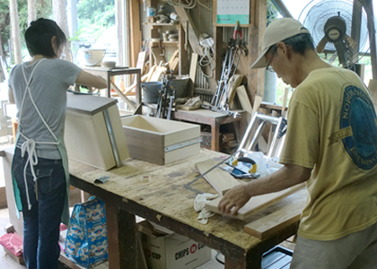 木工教室風景