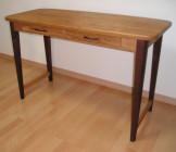 やさしさとスタイリッシュさを合わせて感じることができるテーブル
