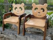 パンダの椅子
